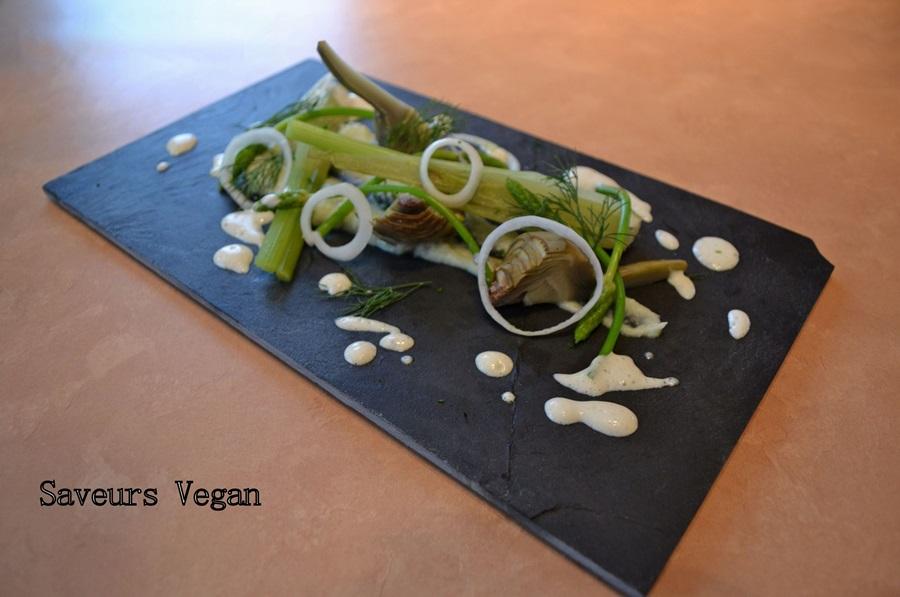 Salade artichaud et fenouil